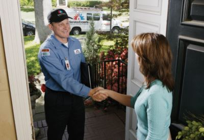 in-home estimate from Parker Pearce Service Experts Heating & Air Conditioning